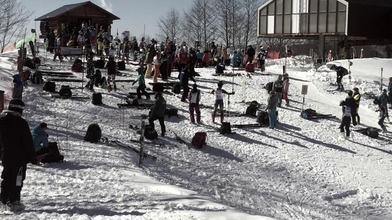 米子北高 スキー部 2016年度大会より