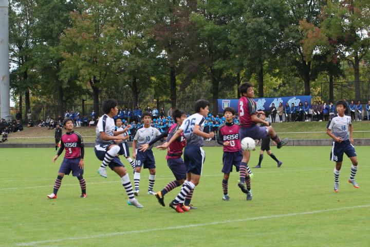 第96回 全国高校サッカー選手権鳥取県大会 準々決勝