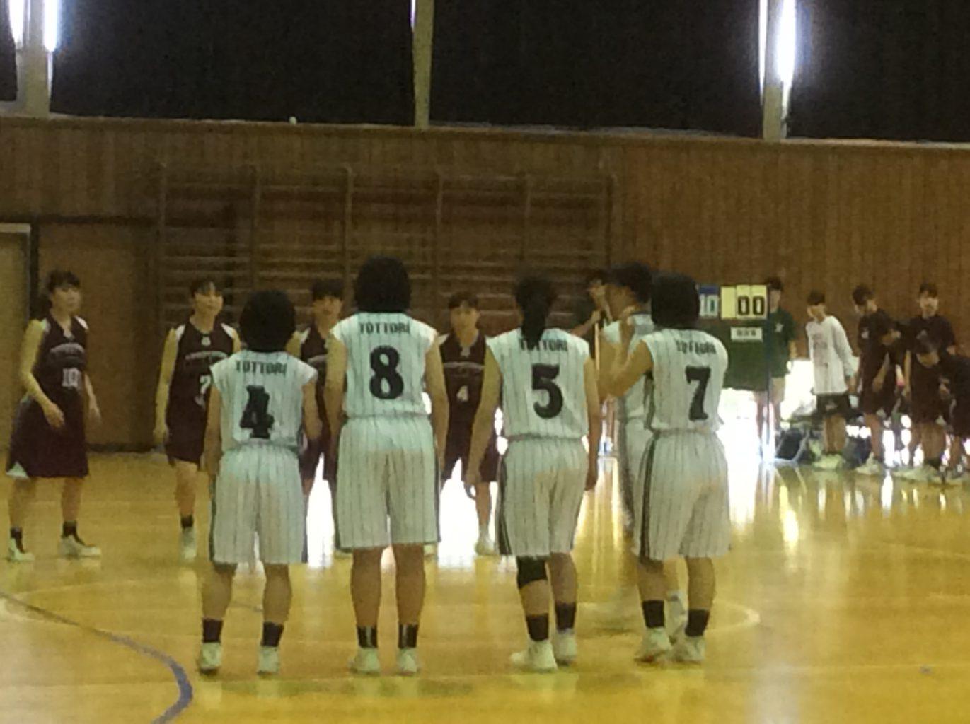 バスケットボール部 県総体で男女 ベスト8達成