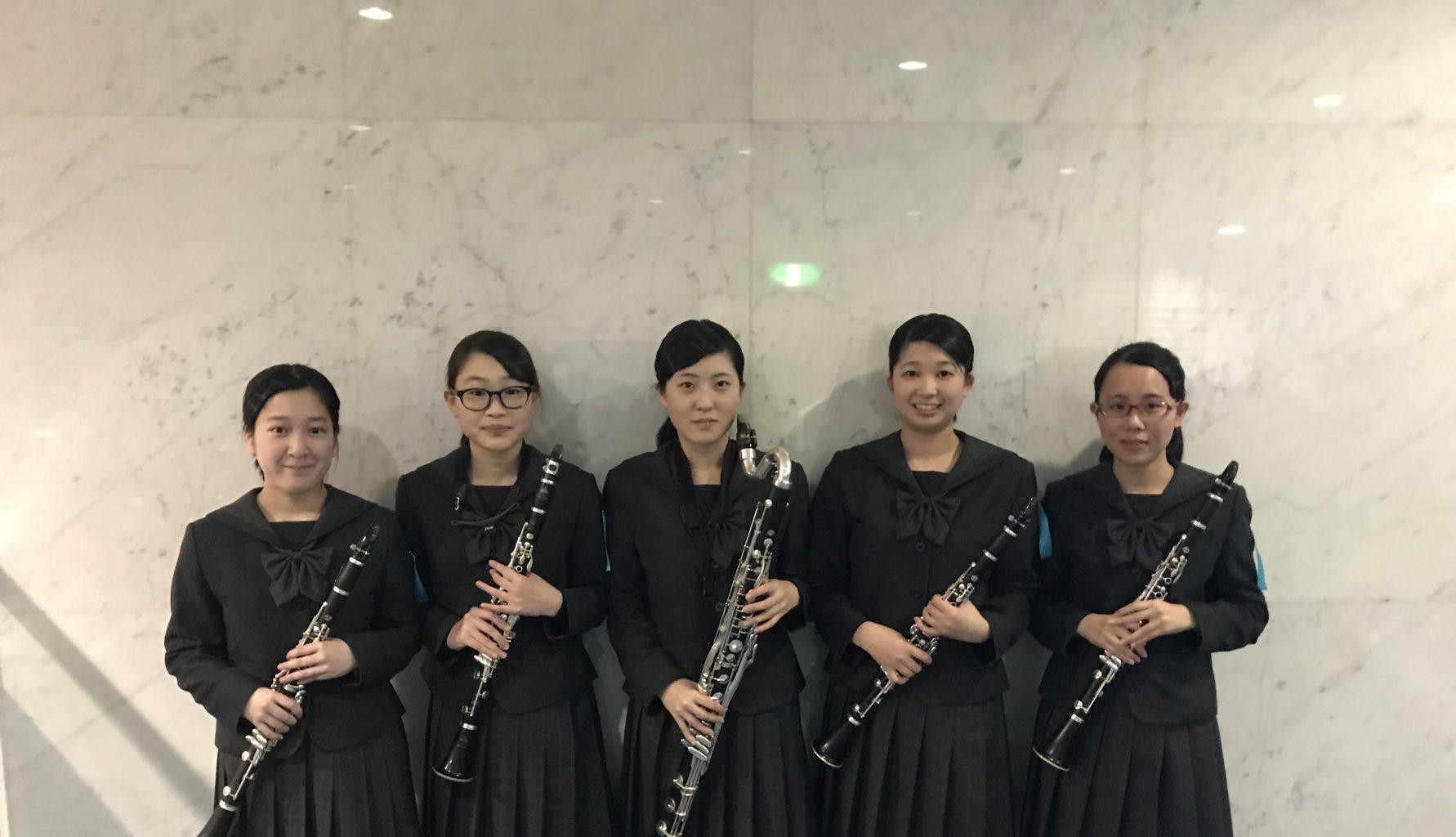 吹奏楽部:アンサンブルコンテスト中国大会