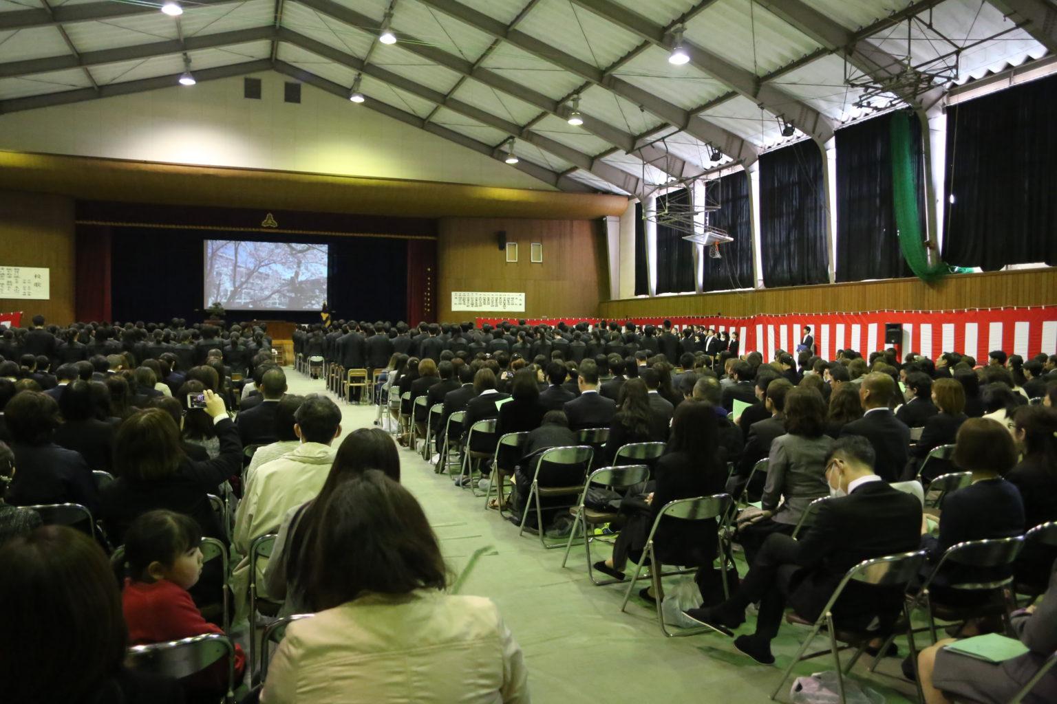 平成30年度卒業式