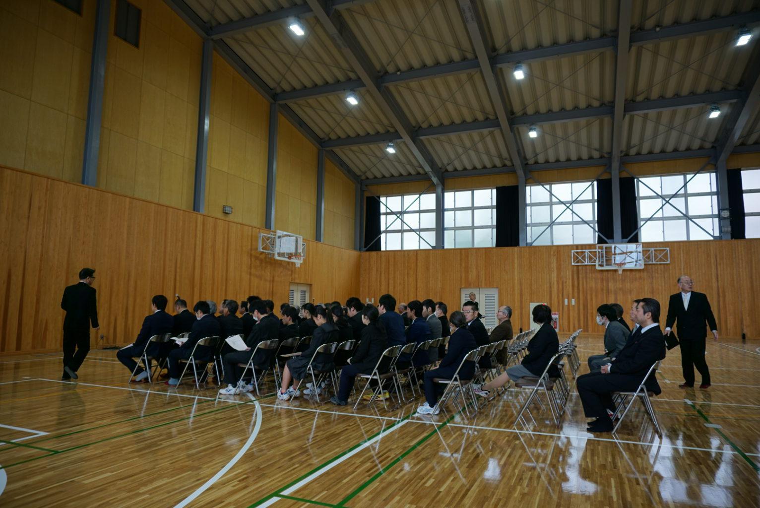 新第一体育館・武道館・体操練習場 落成式
