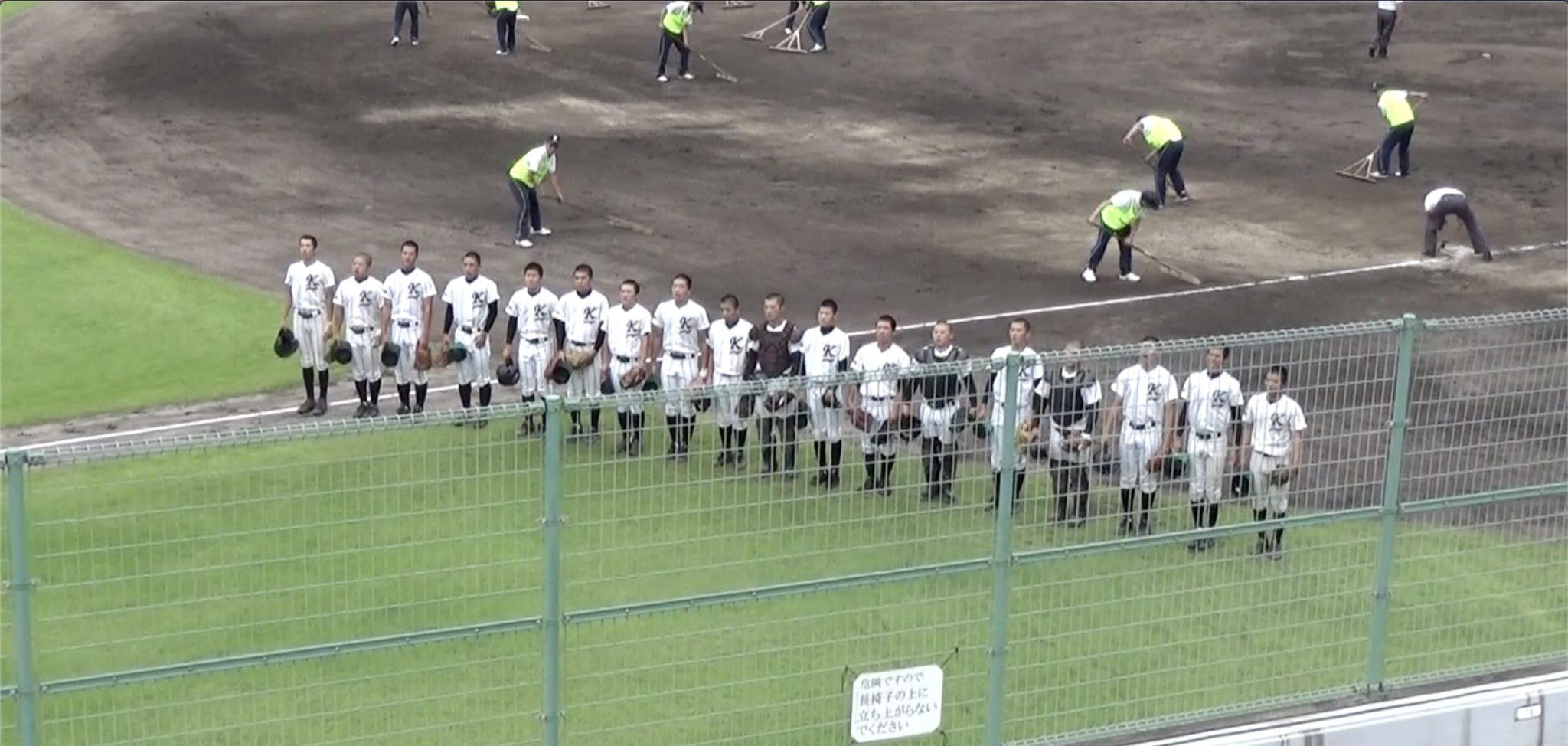 野球選手権鳥取大会:7/22初戦・対八頭高校戦勝利!