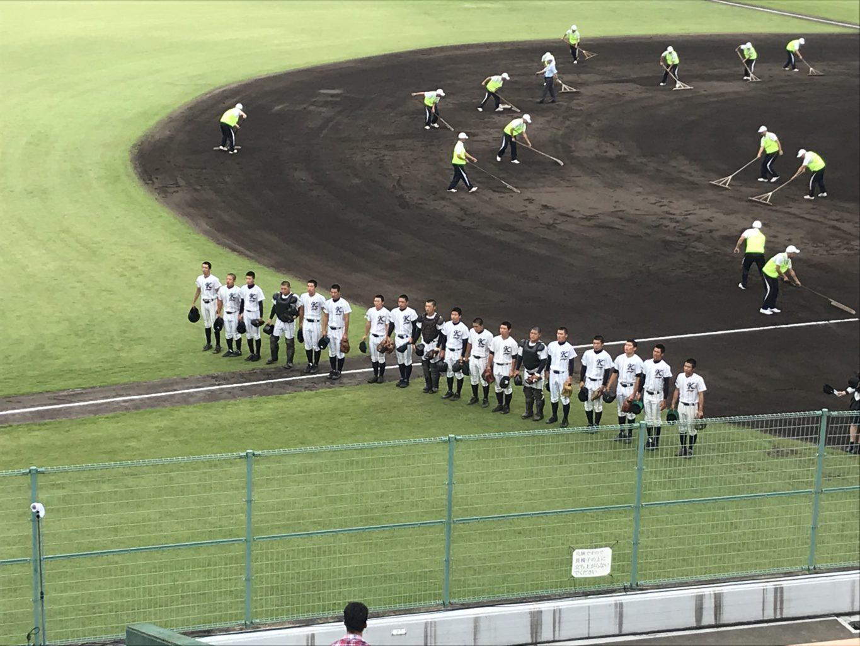 野球選手権鳥取大会:7/24第2戦・対境高校戦サヨナラ負け!
