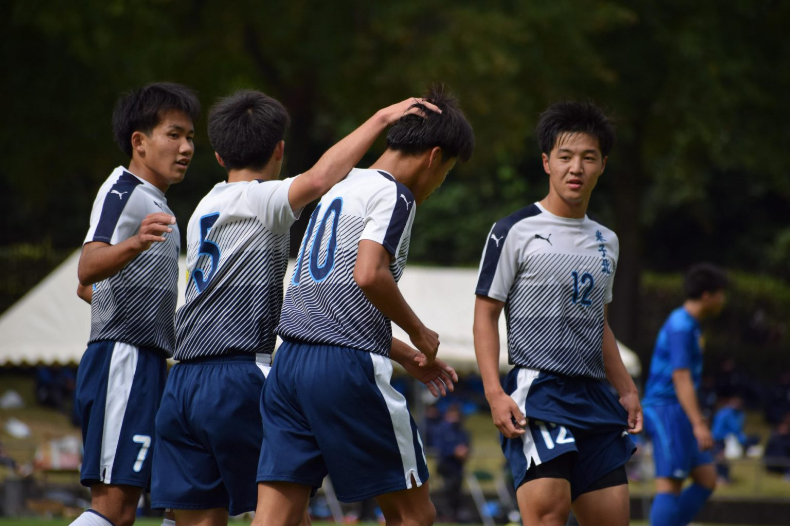 サッカー:10/24・米子松蔭戦 試合結果