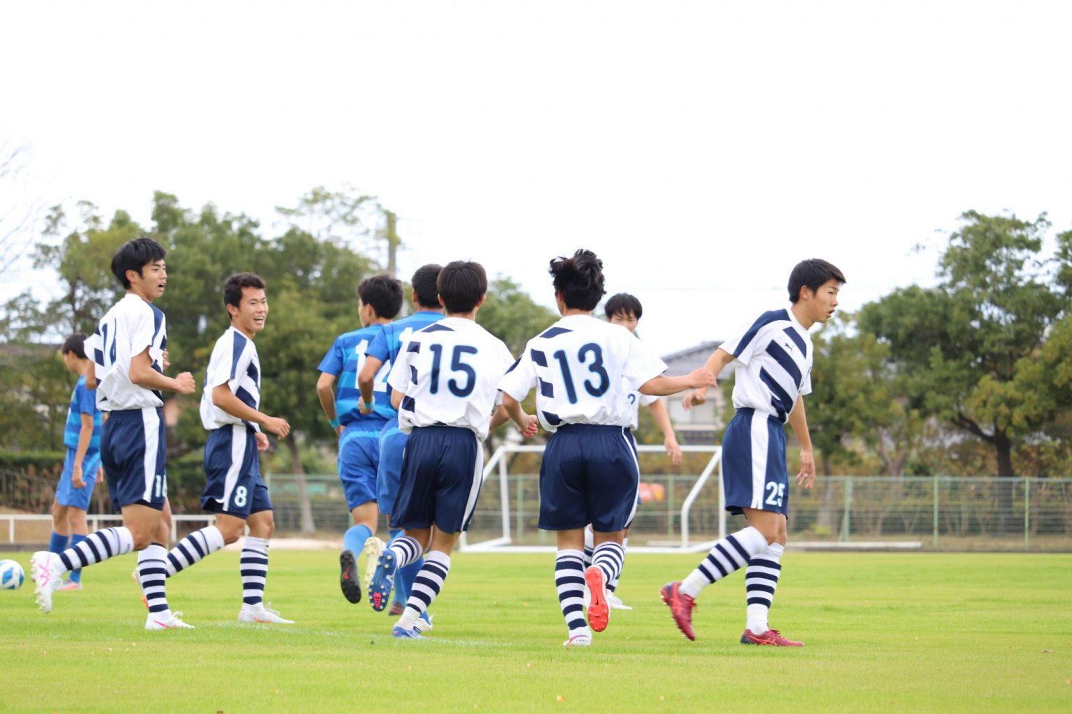 サッカー:新人戦11/21・米子松蔭戦 試合結果