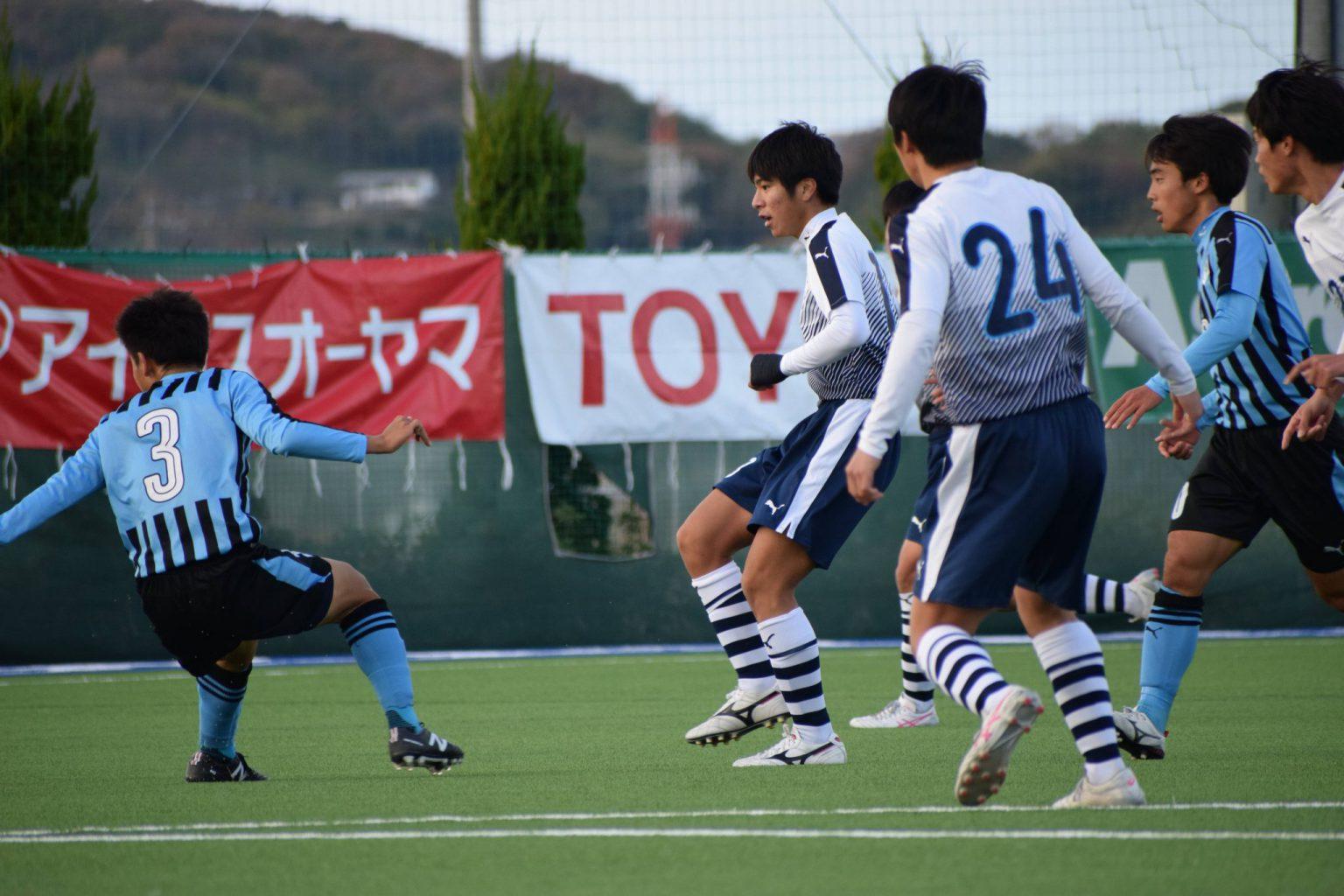 サッカー:SPL中国 11/28・岡山学芸館 試合結果