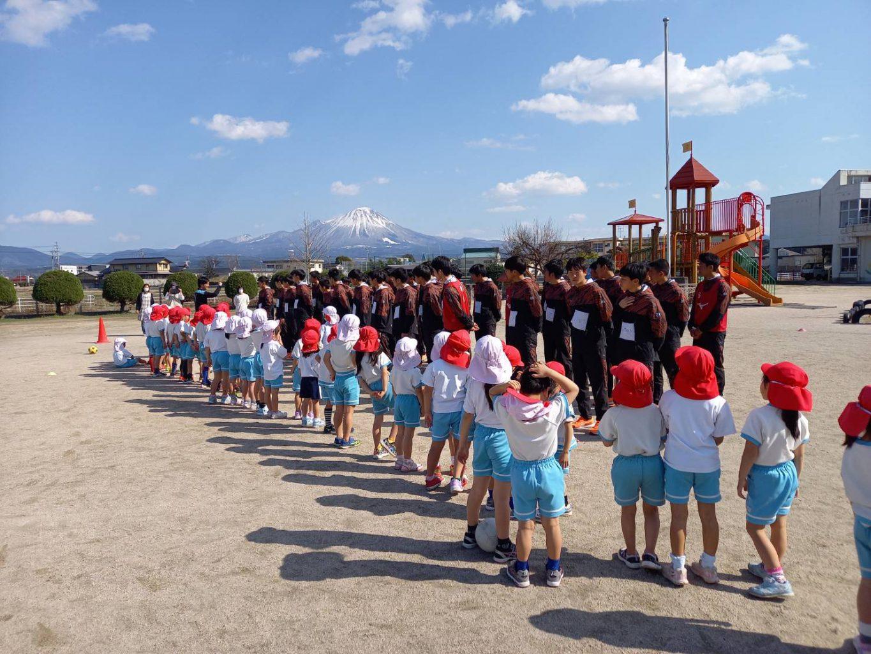 サッカー:幼稚園サッカー教室実施レポート
