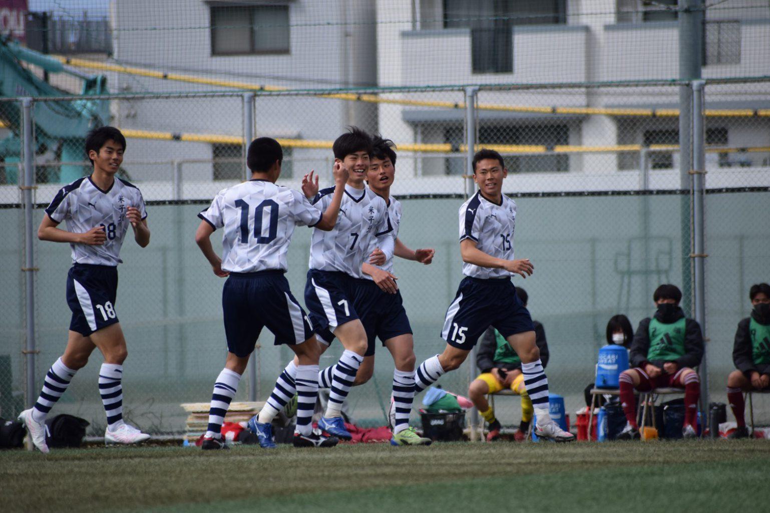 サッカー:中国新人1回戦 3/13・西京戦 試合結果