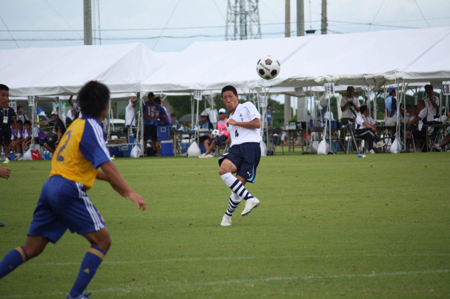 サッカー:OB昌子源選手 日本代表選出のお知らせ