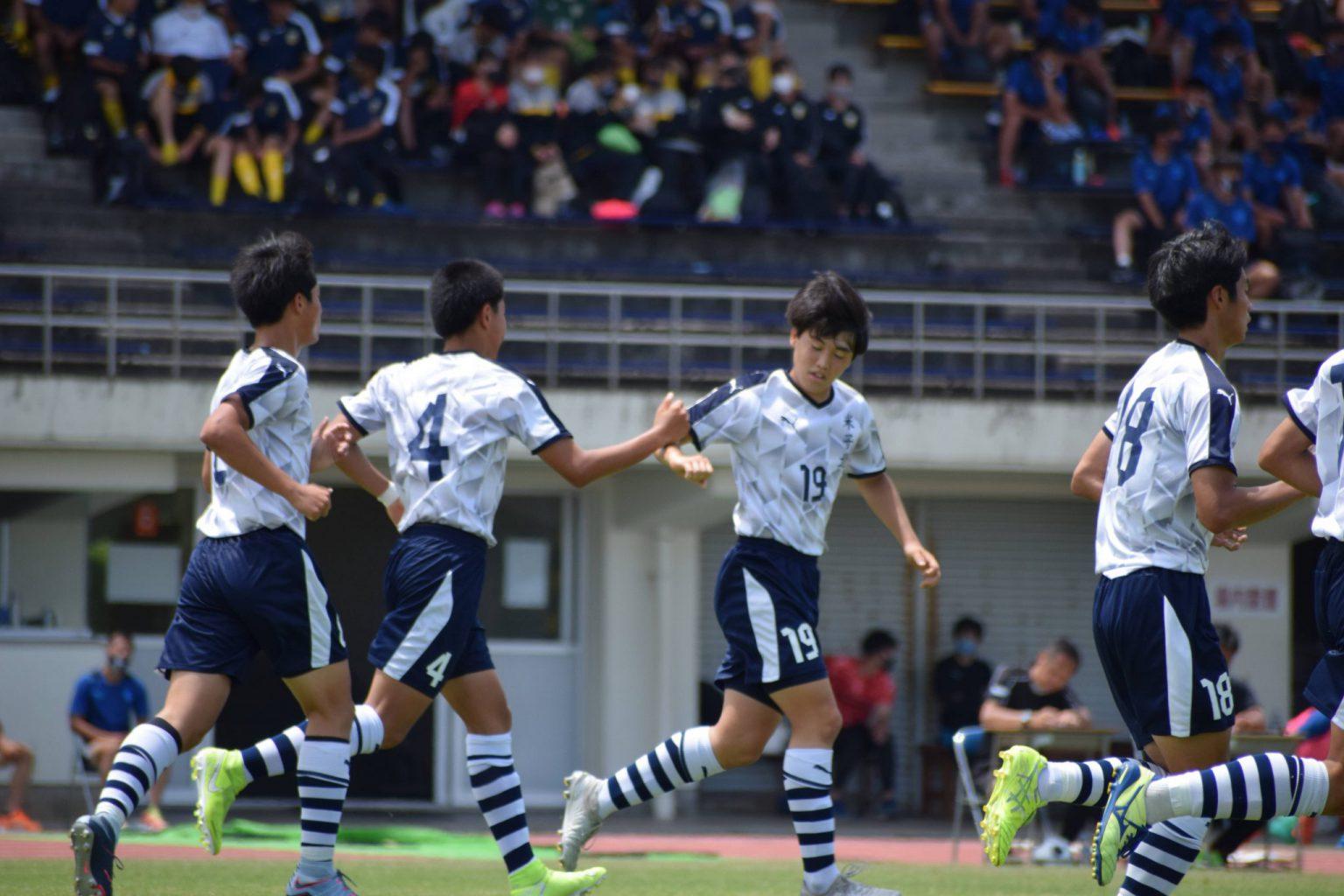サッカー:県高校総体 準決勝 6/5 倉吉総産戦