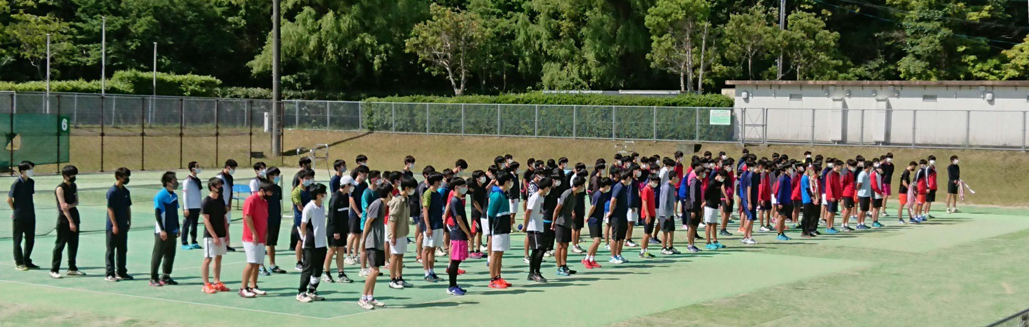 テニス:令和3年度の大会成績