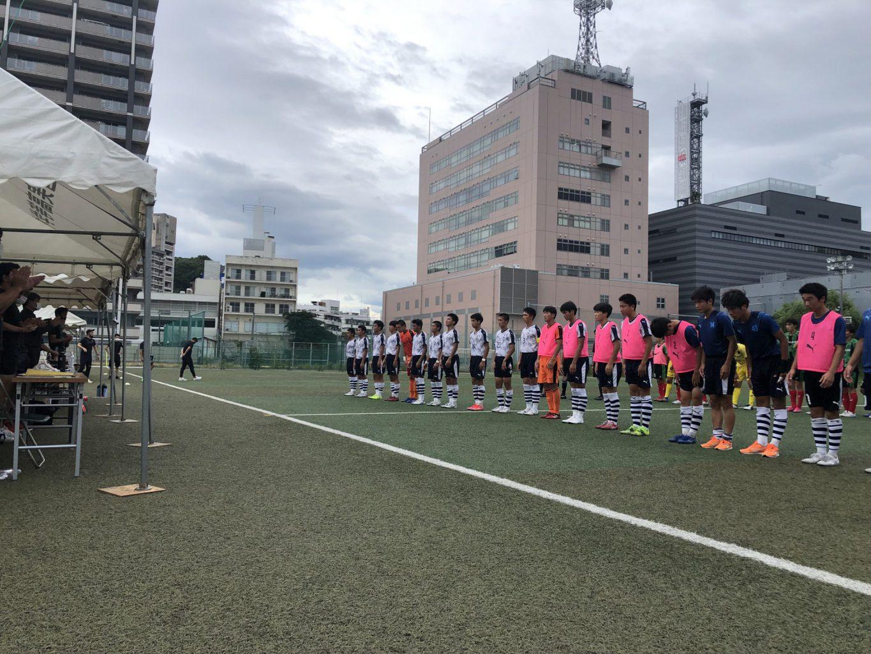 サッカー:プリンスリーグ中国 第7節 7/17 広島皆実戦 試合結果