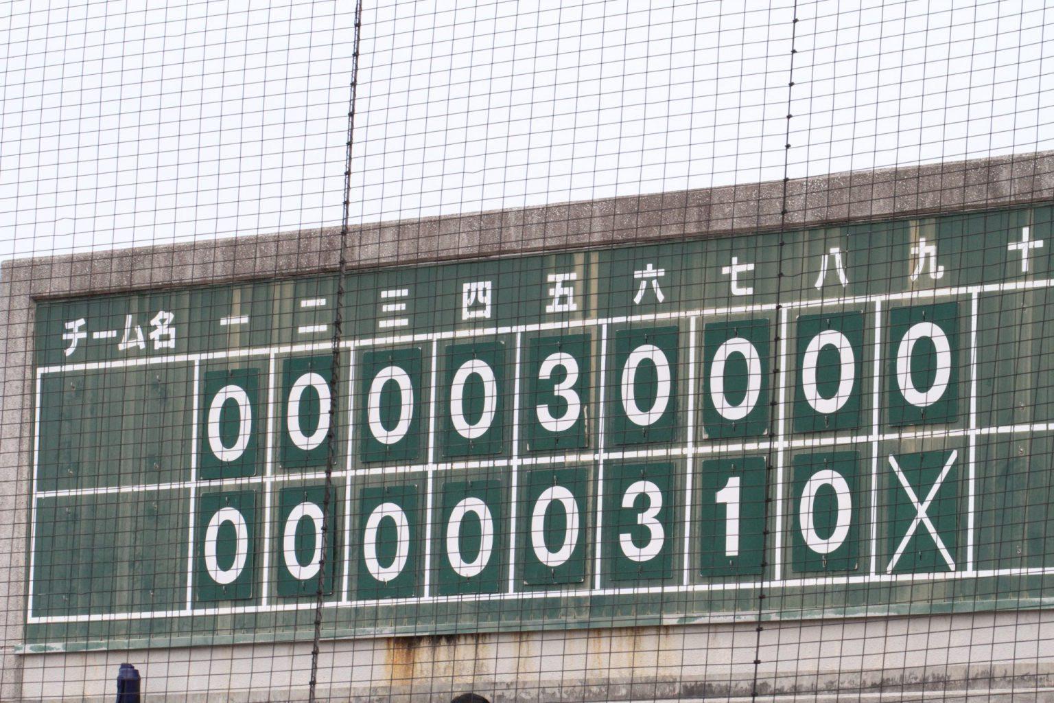 令和3年度 鳥取県西部地区秋季高校野球大会