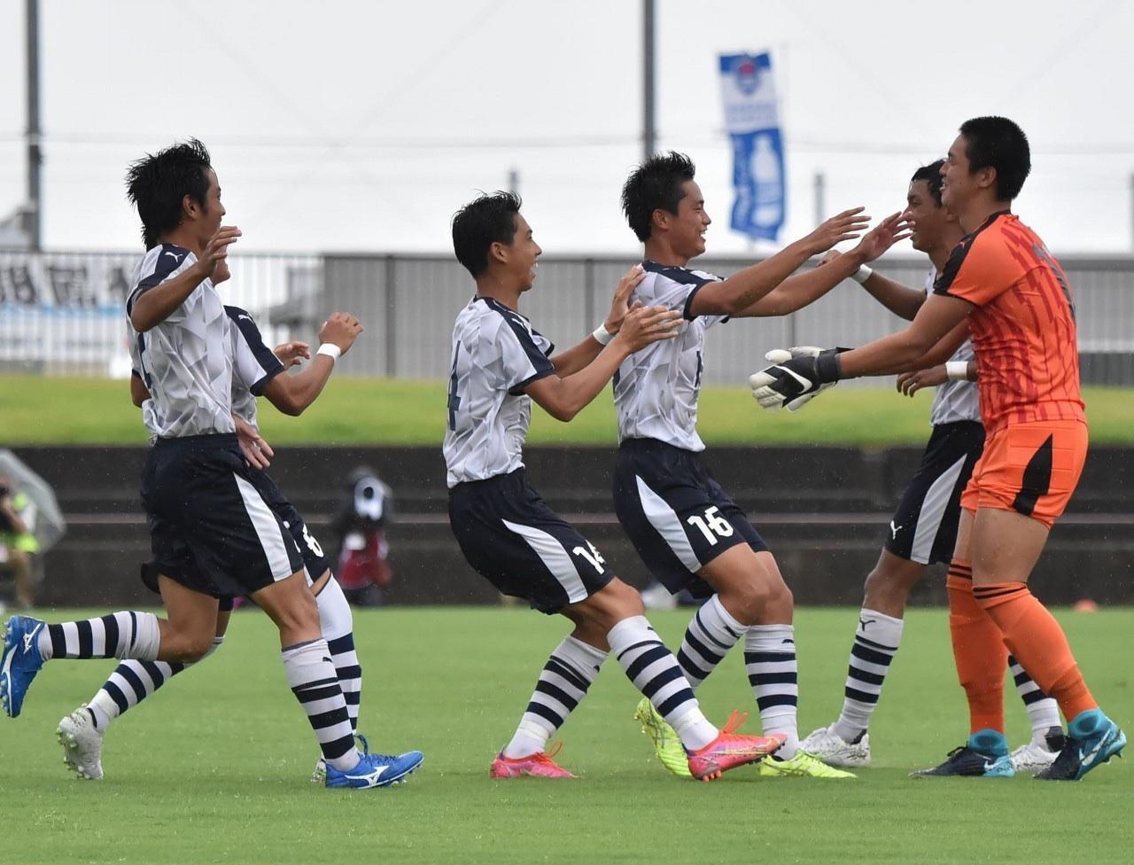 サッカー:インターハイ 1回戦 8/14 帝京戦 試合結果