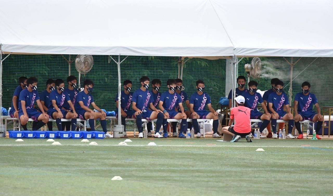 サッカー:インターハイ 2回戦 8/16 東海大山形戦 試合結果