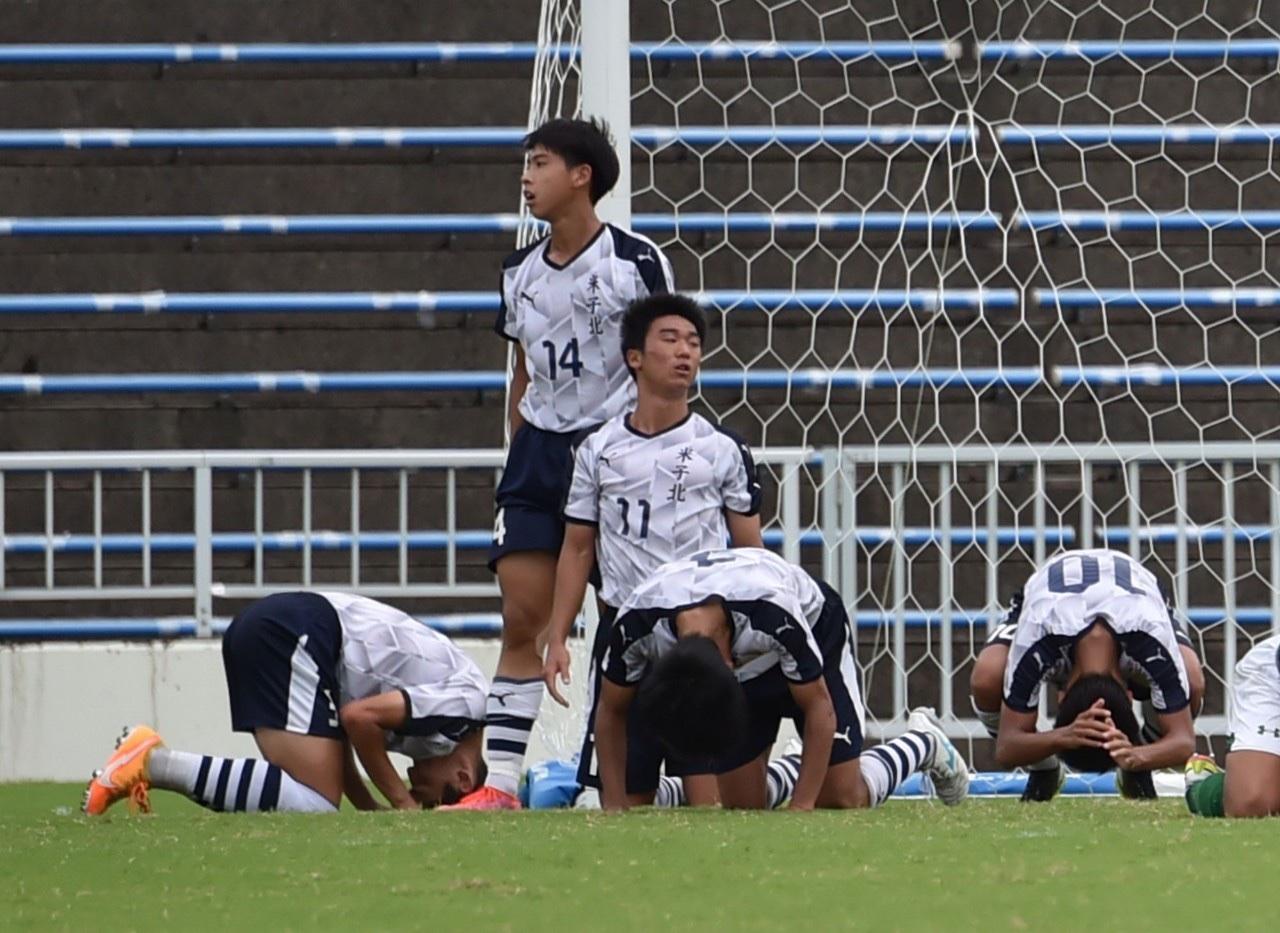 サッカー:インターハイ 決勝 8/22 青森山田戦 試合結果