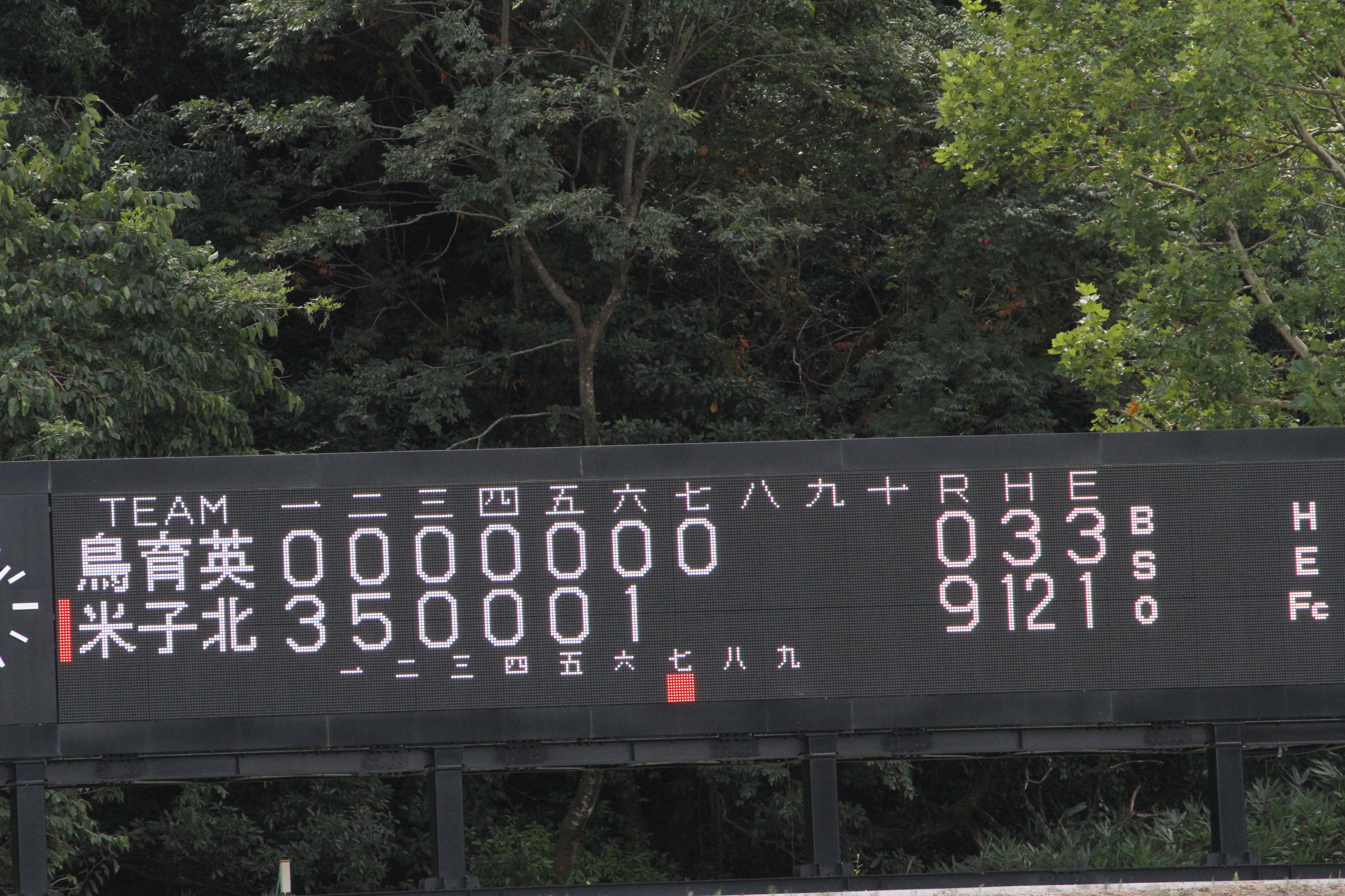 令和3年度 秋季鳥取県高校野球大会